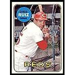 1969 Topps #469 Chico Ruiz Very Good Reds