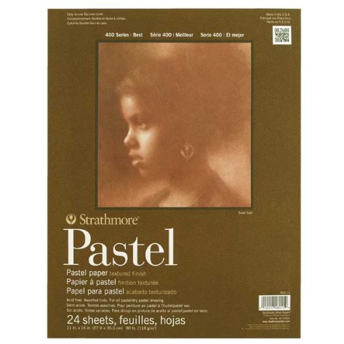 """Strathmore STR-403-11 24 Sheet Past Pad, 11 by 14"""""""