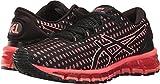 Asics Womens GEL-Quantum 360 Running Shoe Shift Black/Flash Coral/Black Size 8.5
