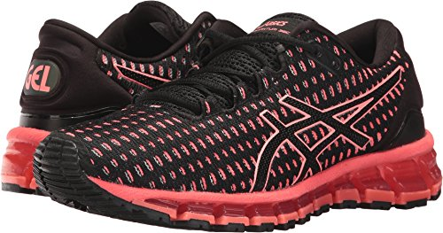 Asics Womens GEL-Quantum 360 Running Shoe Shift Black/Flash Coral/Black Size 7.5 by ASICS