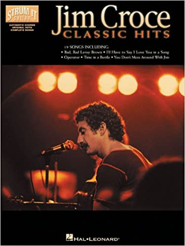 Amazon Jim Croce Classic Hits Strum It Guitar 9780634027352 Books