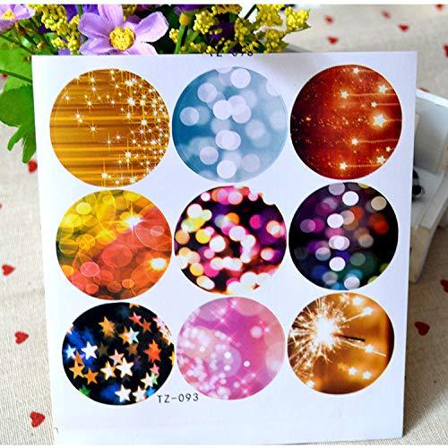 90 PCS Gift Stickers,Round Sticker,Seal Label Sticker,Japanese Sticker