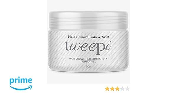 Tweepi Crema inhibidora para el crecimiento del cabello