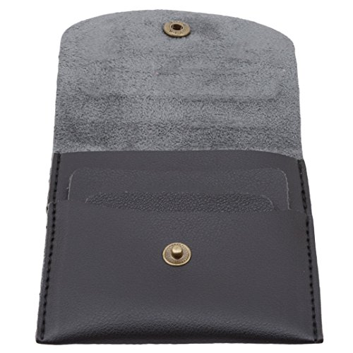 Bag Deer Change Wallet Coin Mini Leather Purse Women Black Vintage metal Pouch Joofff XAqUn
