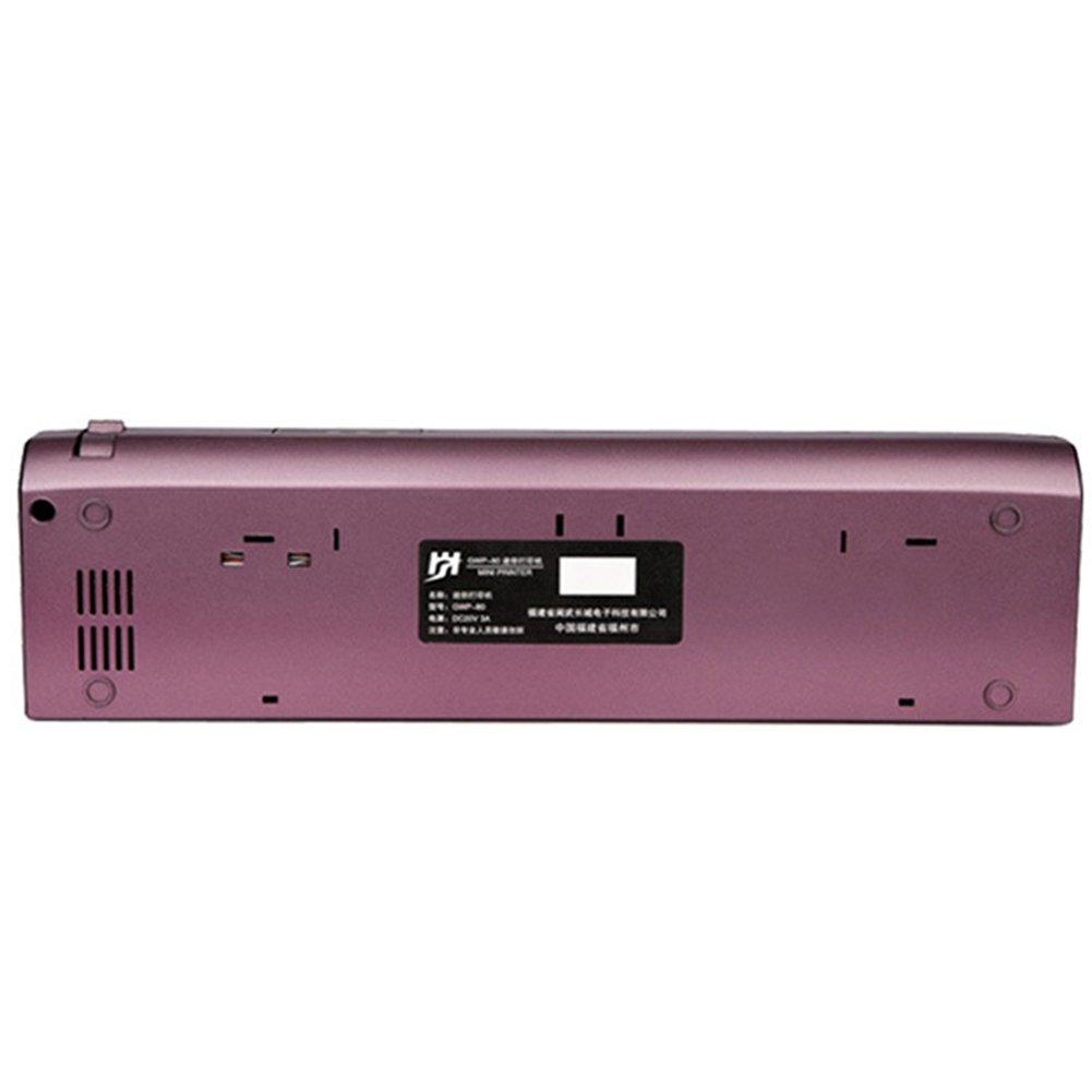 Amazon.com: bluwee MW Tamaño A4 portátil impresora térmica ...