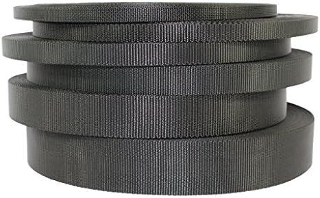 3//4 Inch Lashing Strap Nylon Webbing Poly Military OD Green Your Length LL
