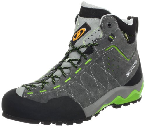 Scarpa Tech Ascent GTX Approach Boot,Shark,42.5 EU/9.5 M US by SCARPA