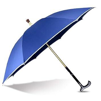 LFFME Multi-Función Muletas Mayores Paraguas Caminando Palillo del ...