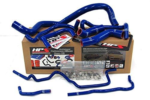HPS 57-1213-BLUE-1 Blue Silicone Radiator Coolant Hose Kit