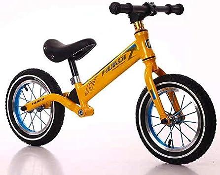 CN-ZX Balance Bike for niños, sin Pedales Balance Bike, Bicicleta ...
