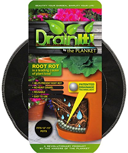 DrainIt! Plant Container Disc, 12 to 15-Inch (Outdoor Container Plants)