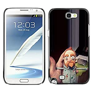 Planetar® ( Louie Stand Up Comedian Beard Ginger ) SAMSUNG Galaxy Note 2 II / N7100 Fundas Cover Cubre Hard Case Cover