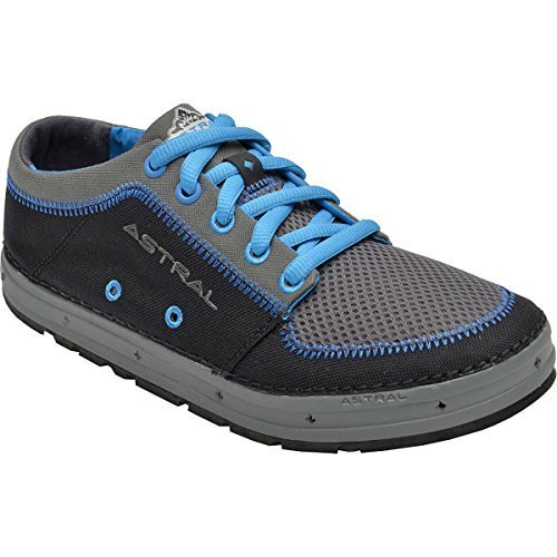 Women's Astral Brewess Boating Shoe-Black/Azul-7.5 by Astral