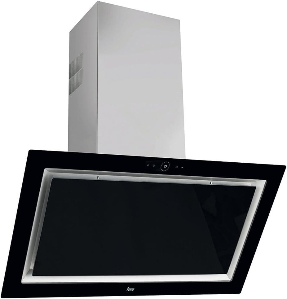 Teka QUADRO DLV 998 De pared Negro 815m³/h A+ - Campana (815 m³/h, Canalizado, A, A, C, 37 dB): 401.39: Amazon.es: Grandes electrodomésticos