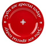 Waechtersbach Plate, You Are Special Today Red Plate