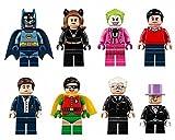 Best Collector Books Friend Clothings - 8 pcs Set Batman TV Figures Lot Bricks Review