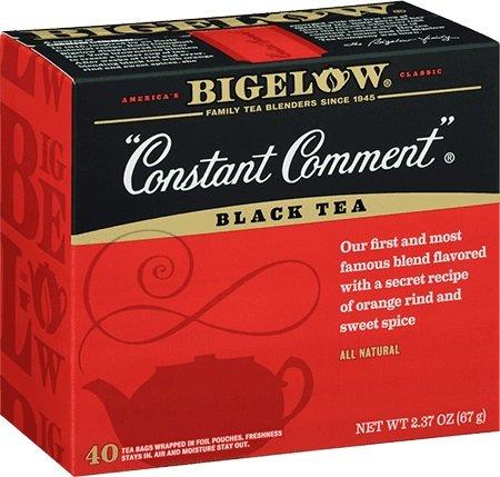 (Bigelow Constant Comment Black Tea, 40 Count Box (2.37OZ))