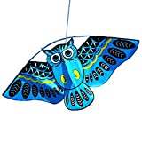 Zconmotarich Owl Easy Flying Kite with 50m Line Children Kids Toys Outdoor Colorful Cartoon