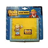 New kids boys Bob the Builder Bi Fold Wallet Yellow Unique Design -