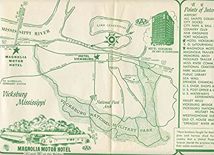 Amazon.com : Magnolia Motor Hotel & Hotel Vicksburg Placemat ... on eagle meadows map, pulaski academy map, memorial map, mt. ida map, paradise lakes map, brookshire map, mount auburn map, southside place map, segerstrom map, big branch map, deptford township map, penns grove map, bentwater on lake conroe map, devalls bluff map, bay head map, office space map, camano map, seaport district map, piney point village map, mccomb city map,