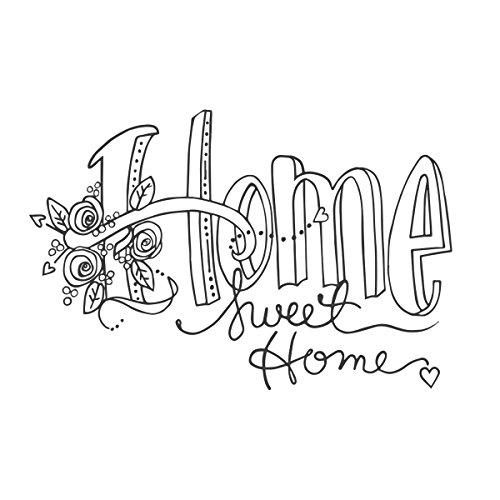 Spellbinders Stamps Sweet Home