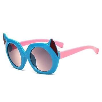 RDJM Gafas de Sol para Niños, Gafas de Sol Redondas de ...
