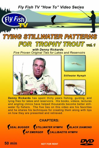 Tying Stillwater Patterns for Trophy Trout ()