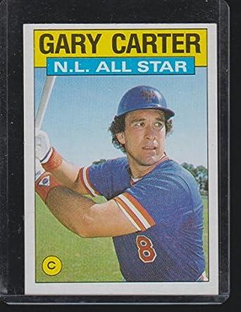 1986 Topps Gary Carter Mets All Star Baseball Card 708 At