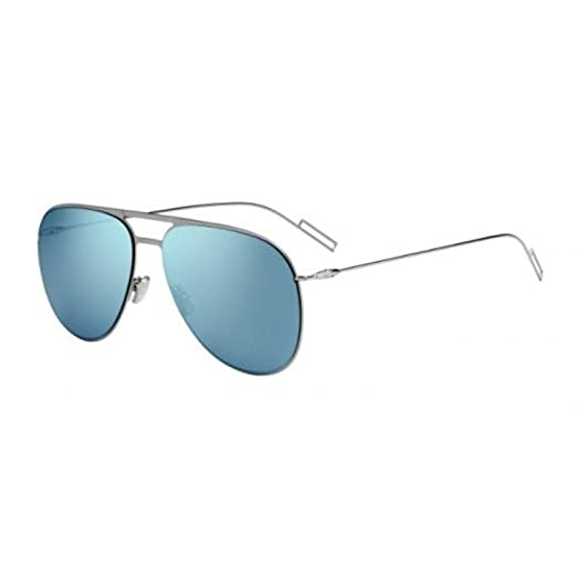 Amazon.com  Christian Dior 0205 S Sunglasses Ruthenium   Azure ... 6c261599f5ef