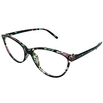 ed1fc6a400 Southern Seas Ladies Cat Eye Style +2.50 Reading Glasses Womens Floral  Frame Readers Eyeglasses Eyewear