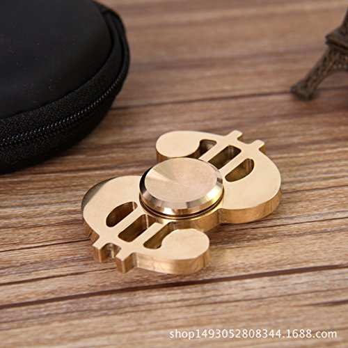Fidget Spinner UCLL Dollar Sign Hand Spinning Toy EDC Focus Stress Reducer Toy Unique