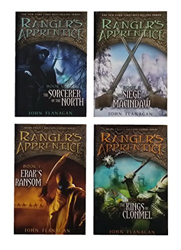 Ranger's Apprentice Hardcover Collection 2 (Books 5-8) Sorcerer of the North, Siege of Macindaw, Erak's Ransom, Kings of Clonmel (Rangers Apprentice 8 The Kings Of Clonmel)