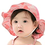 GZMM Baby Girls Sun Protection Hat Cotton Breathable Material UPF50+(6-12M)