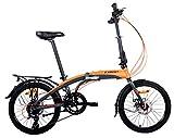 Camp 20'' Alloy 16 Speed Folding Bike Disc Brake Thunderbolt