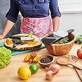 Kyocera Soft Grip Ceramic Kitchen Peeler, One, Black