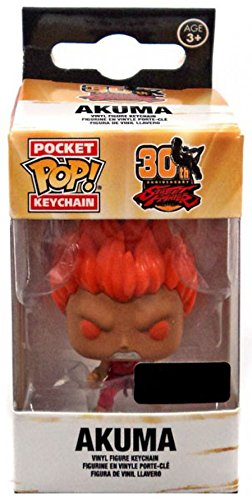 Pocket POP! Keychain: Street Fighter 30th Anniversary - Akuma (Red)