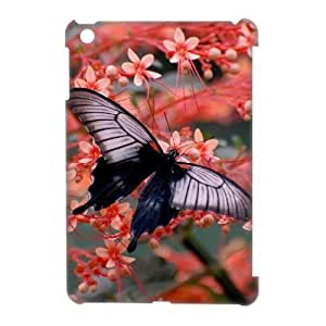 Customized Phone Case with Hard Shell Protection for Ipad Mini 3D case with Butterfly lxa#453681