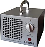 CleanAir Industrial Ozone Generator 3,500mg (3.5G) Air Deodorizer Ionizer Sterilizer, with 120 Minute Timer and NO Hold