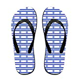 Israel Flag Israeli Unisex Fashion Beach Slipper Indoor And Outdoor Classical Flip-Flop Thong Sandals