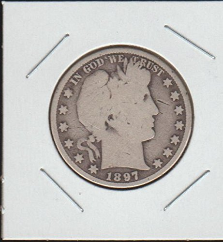 1897 Barber or Liberty Head (1892-1915) Half Dollar Very (1897 Coin)