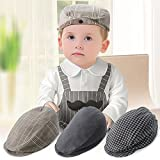 StylesILove Handsome Classic Hat for Baby Infant Boy 3-12 Months (Beret Cap- Blue)