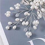 Aunica Bridal Wedding Hair Comb Silver Rhinestone