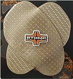 Stomp Design Universal Traction Sportbike Kit - Black 55-10001B