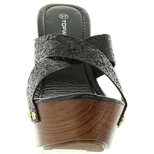 Sandalias de Mujer URBAN B736910-B7200 BLACK