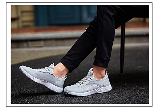 Fashion Solid Women's Sports Color Gray Shoes Running Sneaker by JiYe Men's amp; FExqnw0TYa