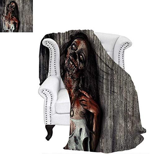 Super Soft Lightweight Blanket Angry Dead Woman Sacrifice