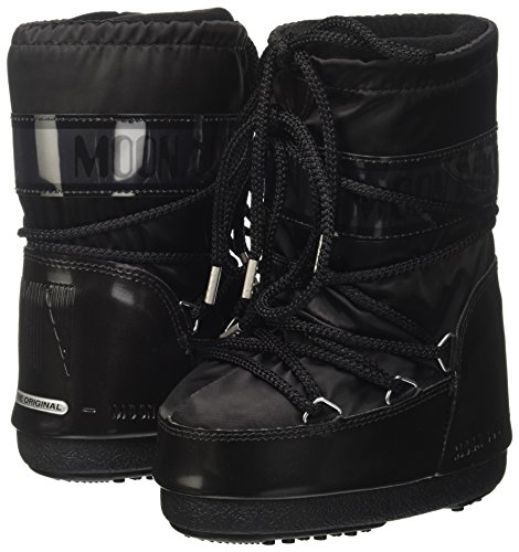 Botas Negro boot Moon De Nieve Para Glance Mujer wRE110dqx