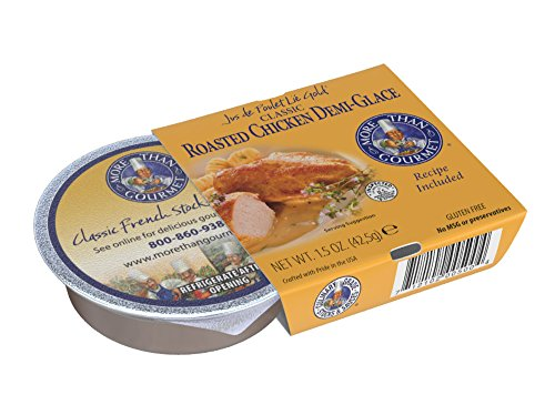 - More Than Gourmet Jus De Poulet Lie Gold Roasted Chicken Demi-glace, 1.5-Ounce Packages (Pack of 6)