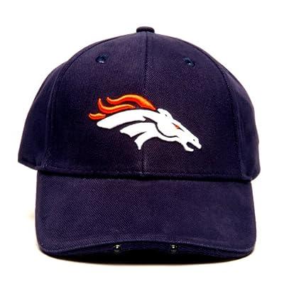 NFL Denver Broncos Dual LED Headlight Adjustable Hat from Lightwear