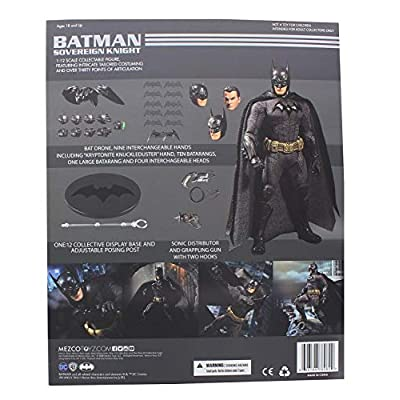 Mezco Toys One: 12 Collective: DC Batman Sovereign Knight Action Figure: Toys & Games